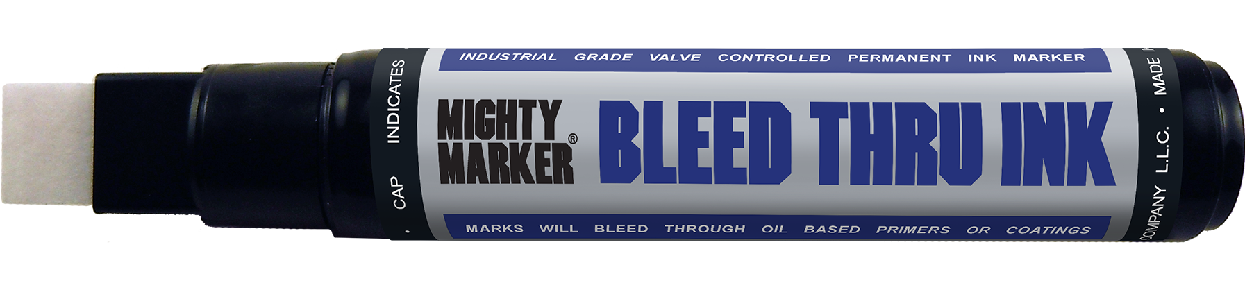 Mighty Marker Bleed-Thru Ink