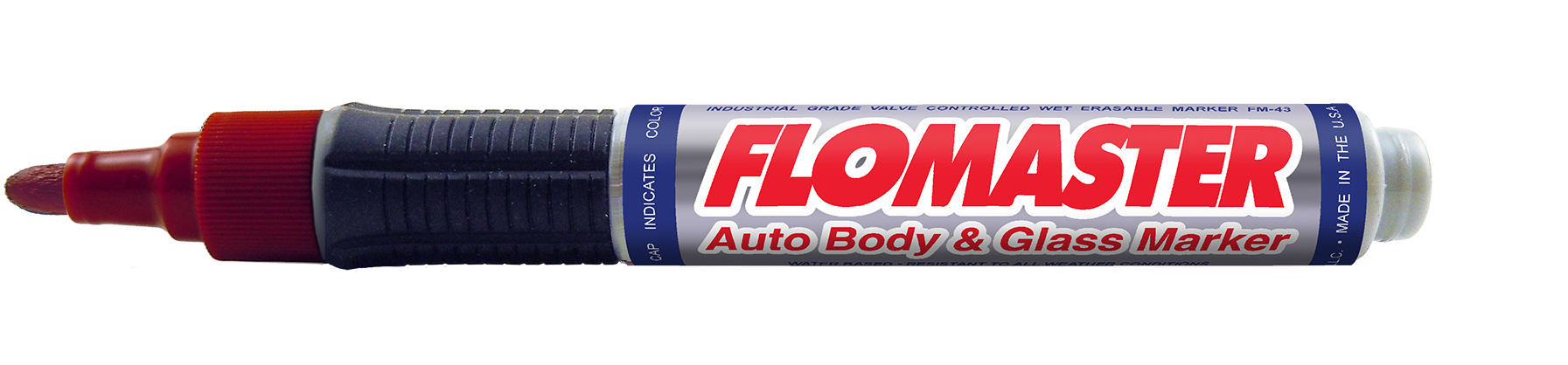 Flomaster Auto Body & Glass Markers