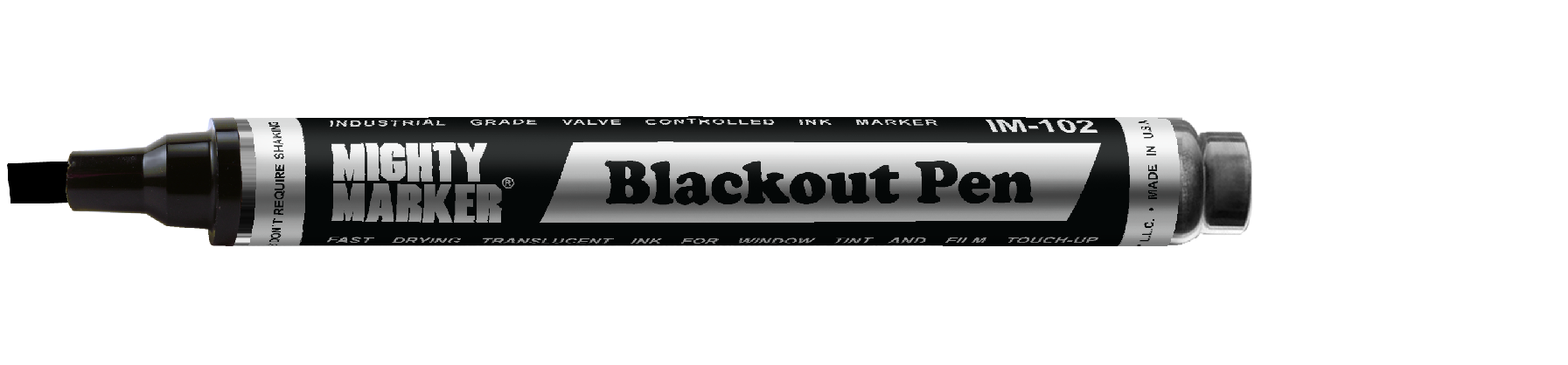 Mighty Marker Blackout Pen