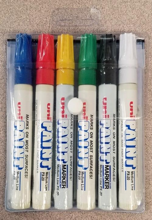 Uni-Paint® PX-20 6-Pack