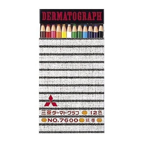 Mitsubishi Dermatograph 12-Pack
