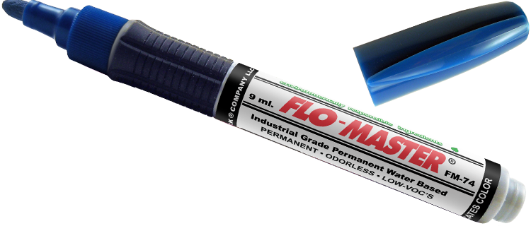 Flomaster Water-Based Permanent Paint Marker