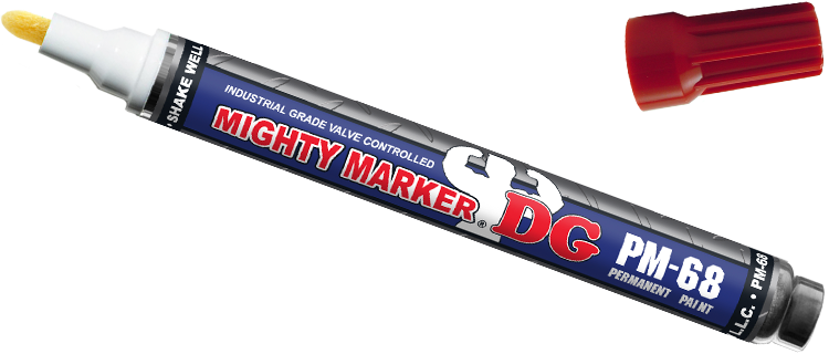 Mighty Marker Degrease Resistant DG