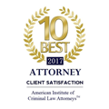 Litt Law 10 Best Attorney 2017