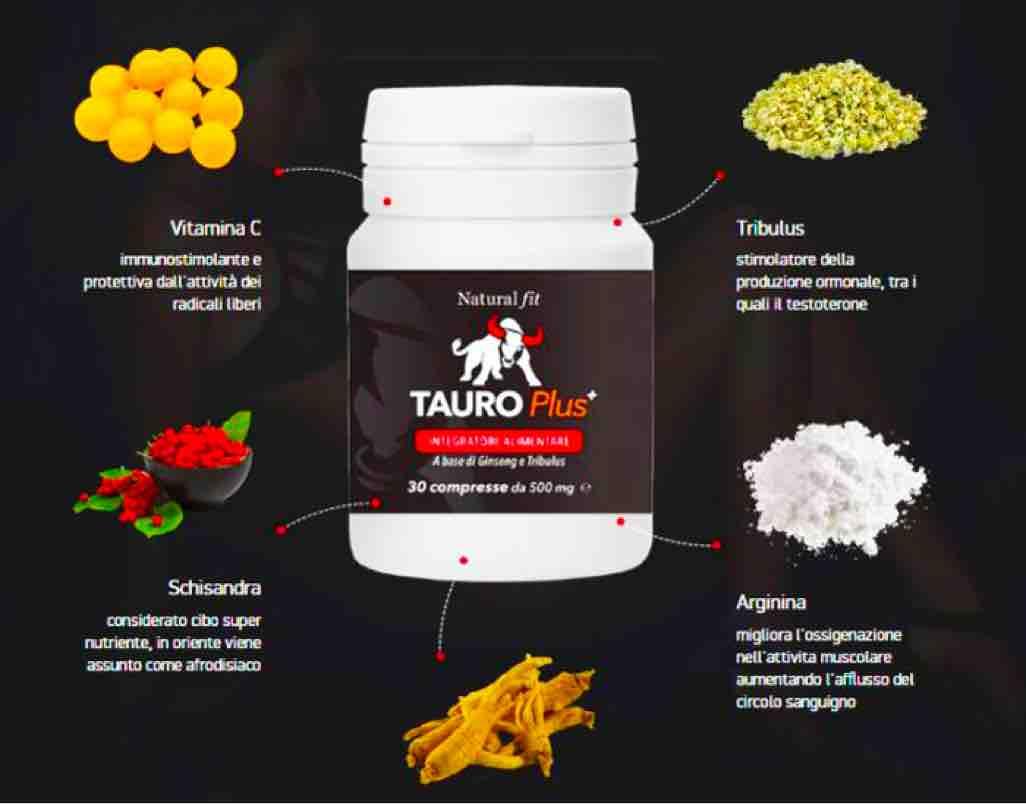ingredienti e composizione del Tauro Plus