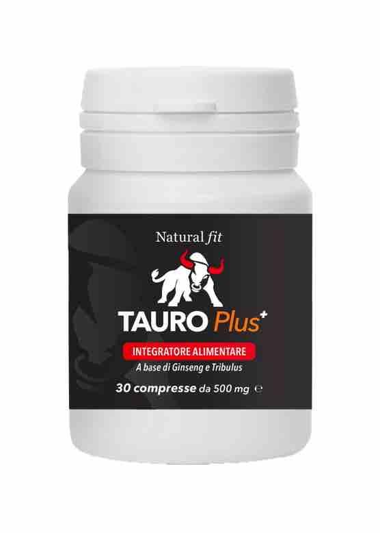una bottiglietta di Tauro Plus