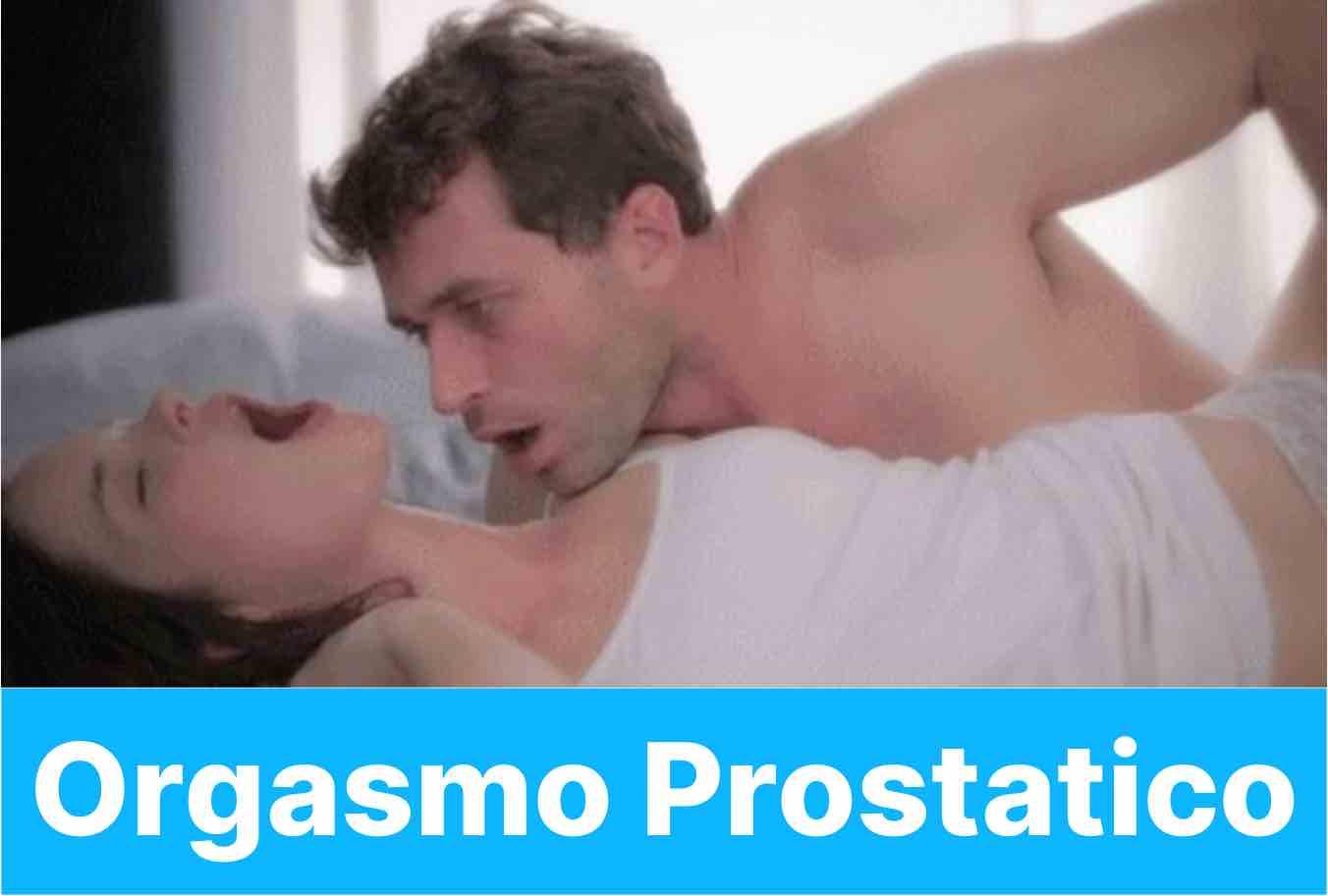 orgasmo prostatico
