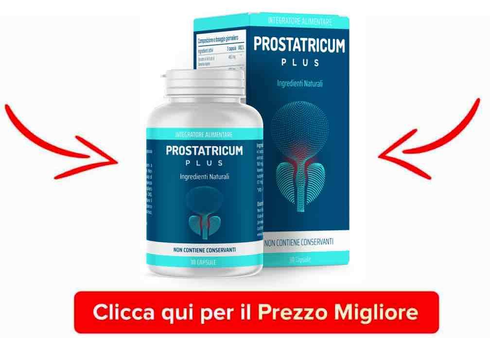 una bottiglia di Prostaticum
