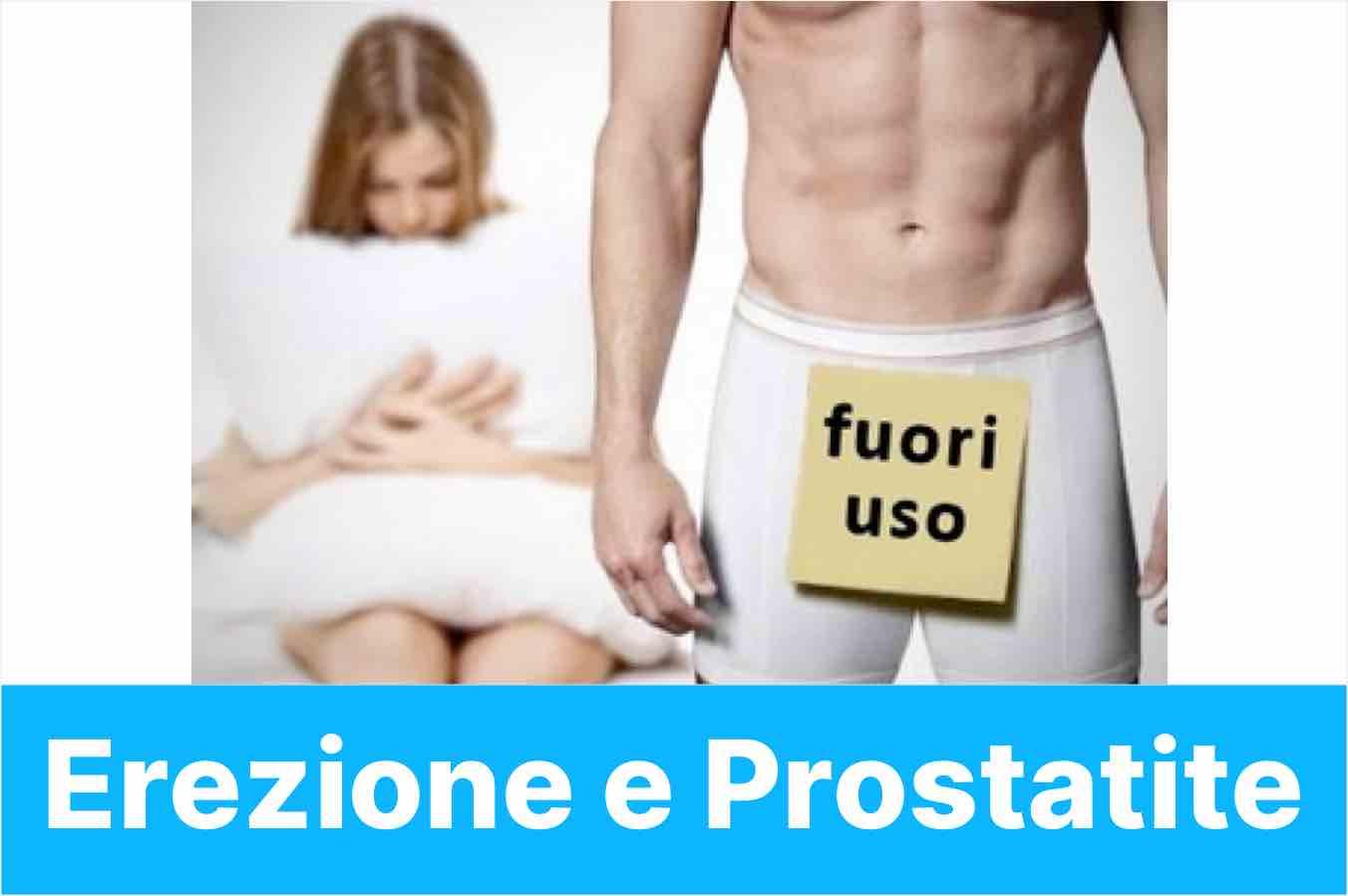 erezione e prostatite