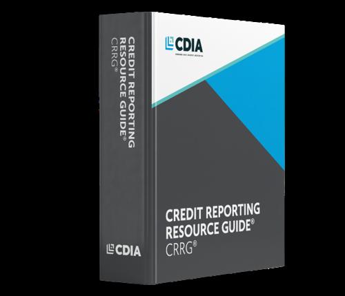 CDIA Credit Reporting Resource Guide Binder