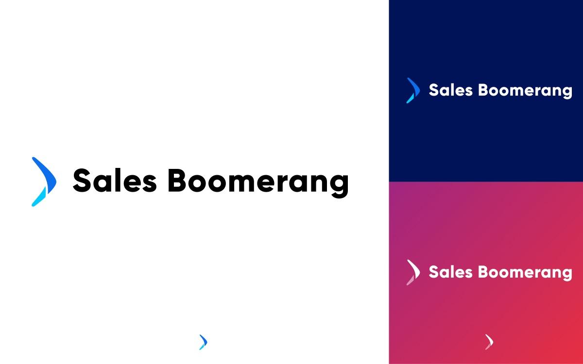 Sales Boomerang logo applications