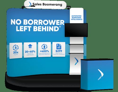 Sales Boomerang trade booth