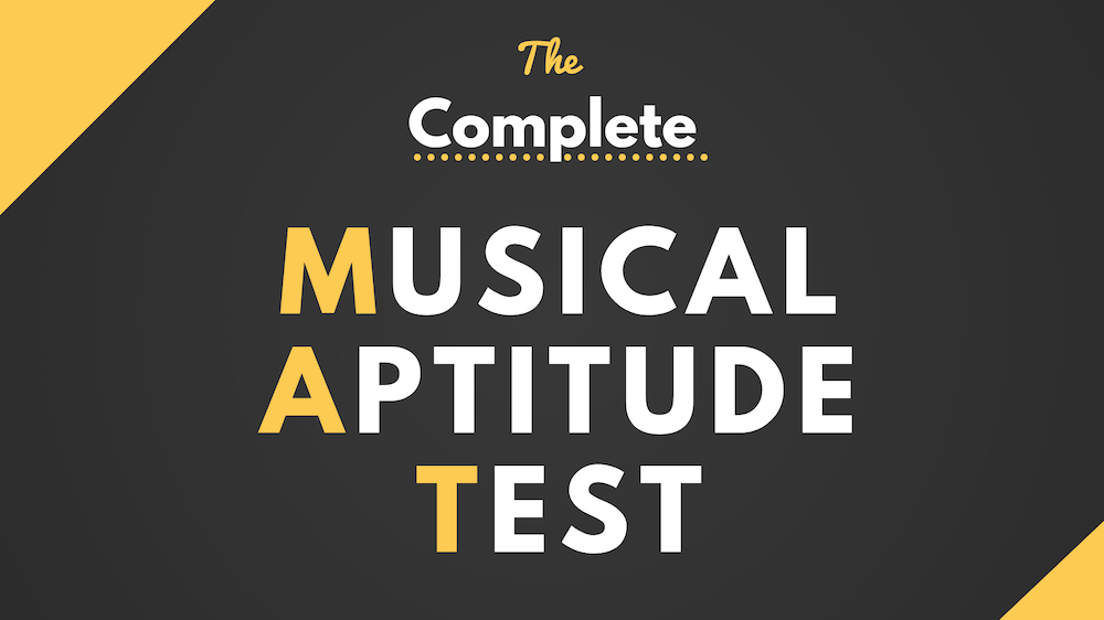 What is a Musical Aptitude Test?