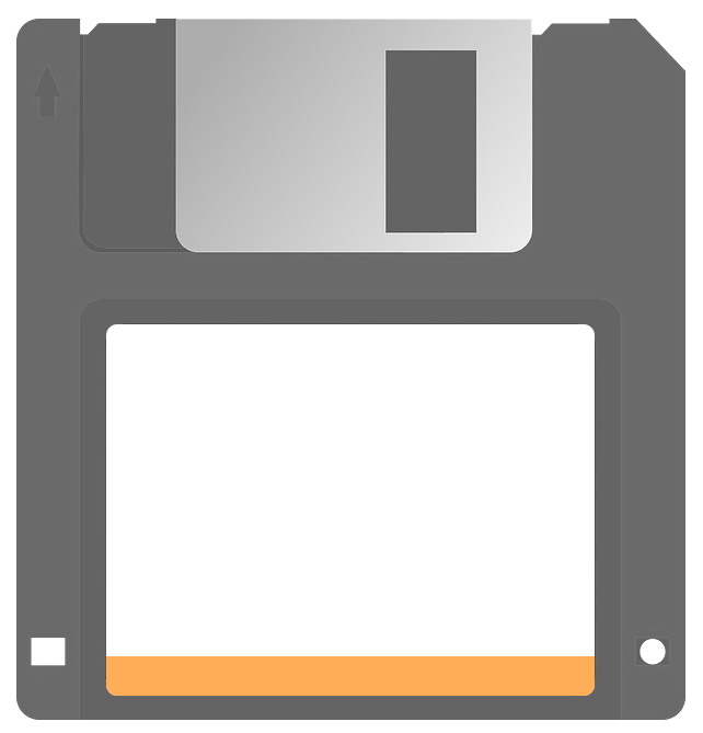 An old fashioned disk