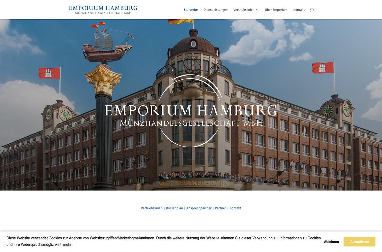 Emporium Hamburg Website