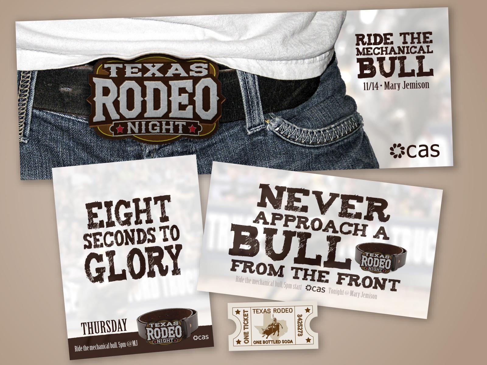 Texas Rodeo Event branding
