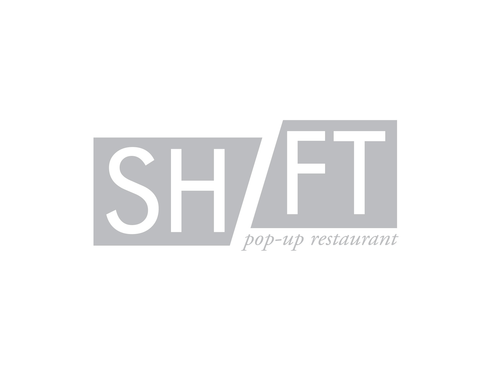 Pop-up Restaurant Logo