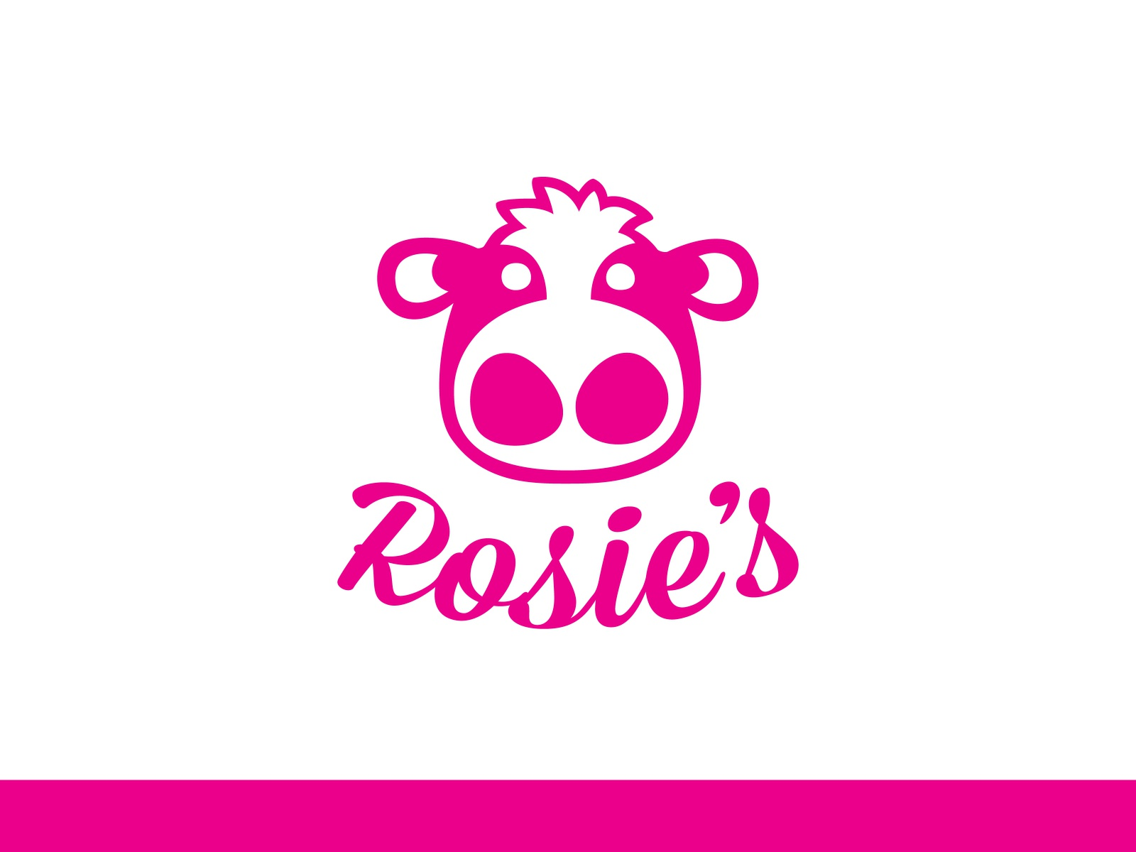 Rosie's Ice Cream Logo