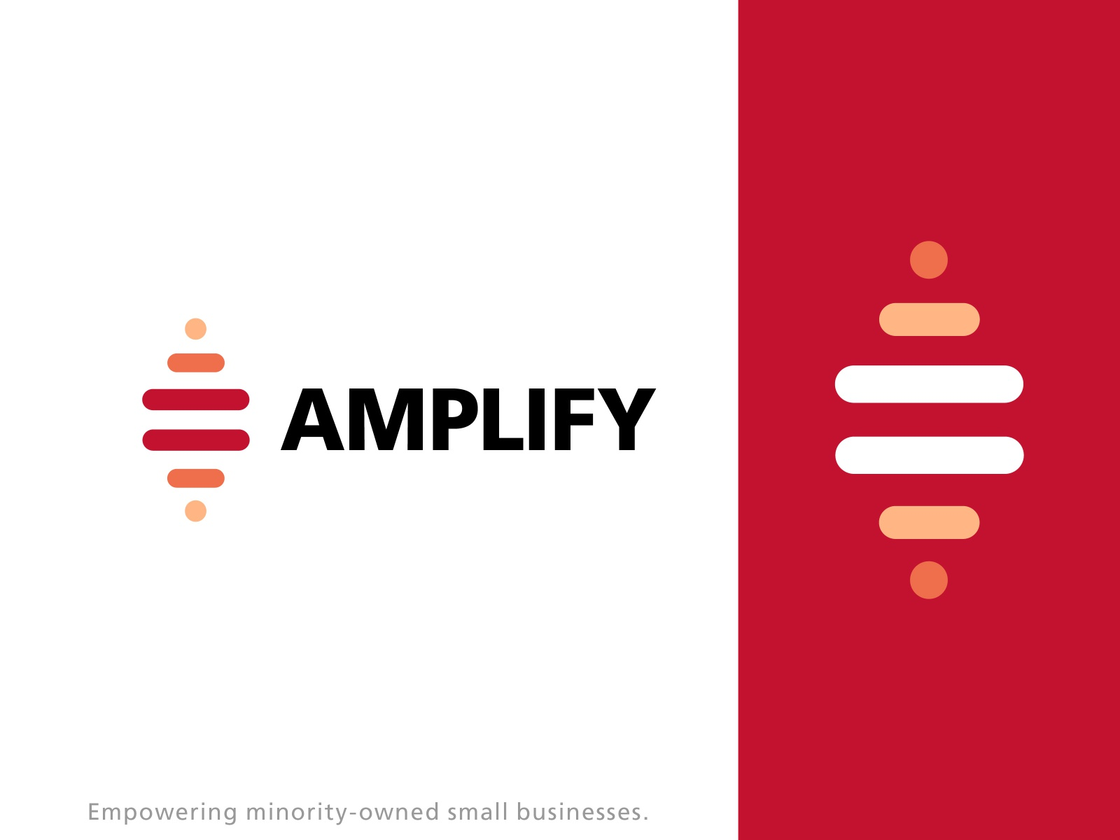Amplify Small Businesses Concept