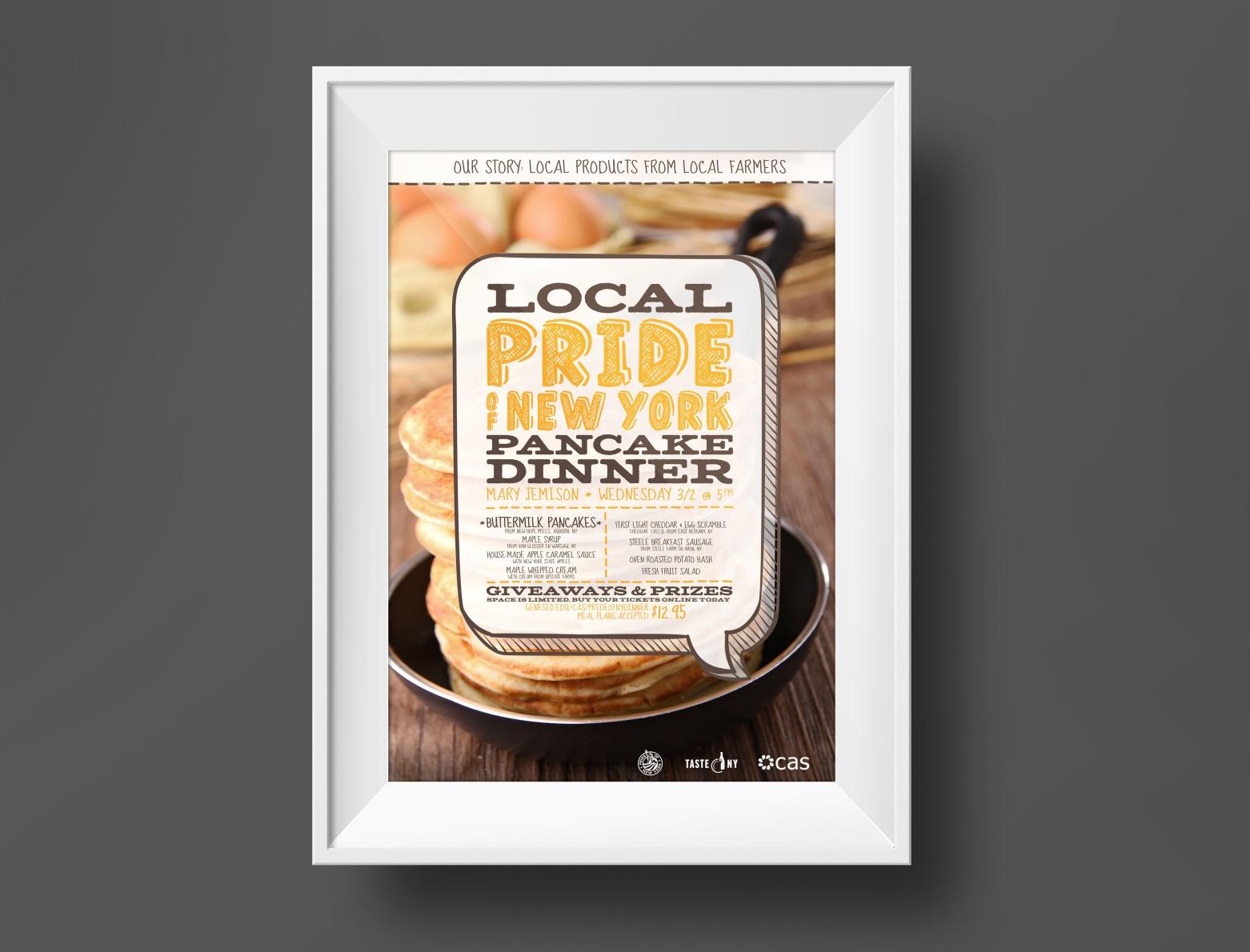 Pancake Dinner event poster