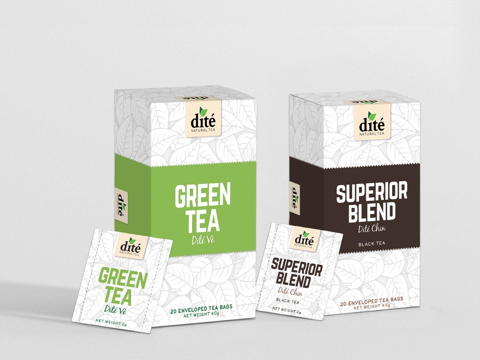 Dite Tea Packaging