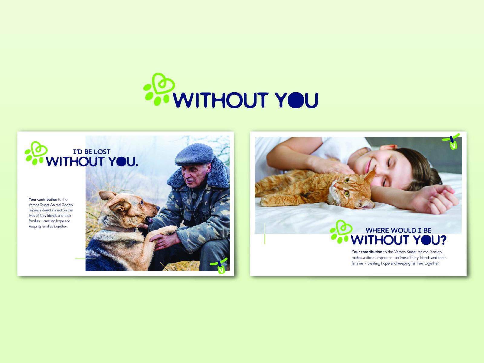 Animal Shelter Appeal Postcard