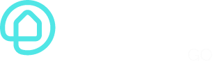 Ohmie GO logo with white text and transparent background
