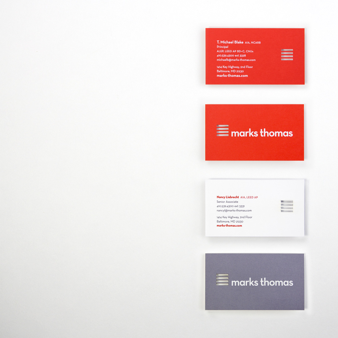 marks thomas business cards