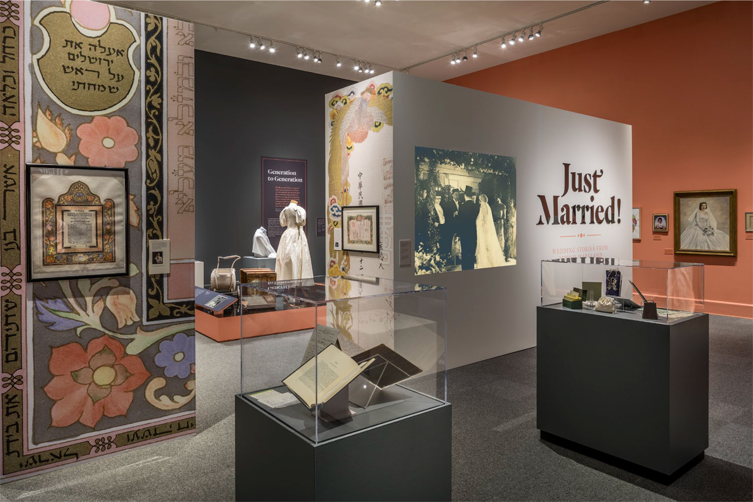 Just Married exhibition