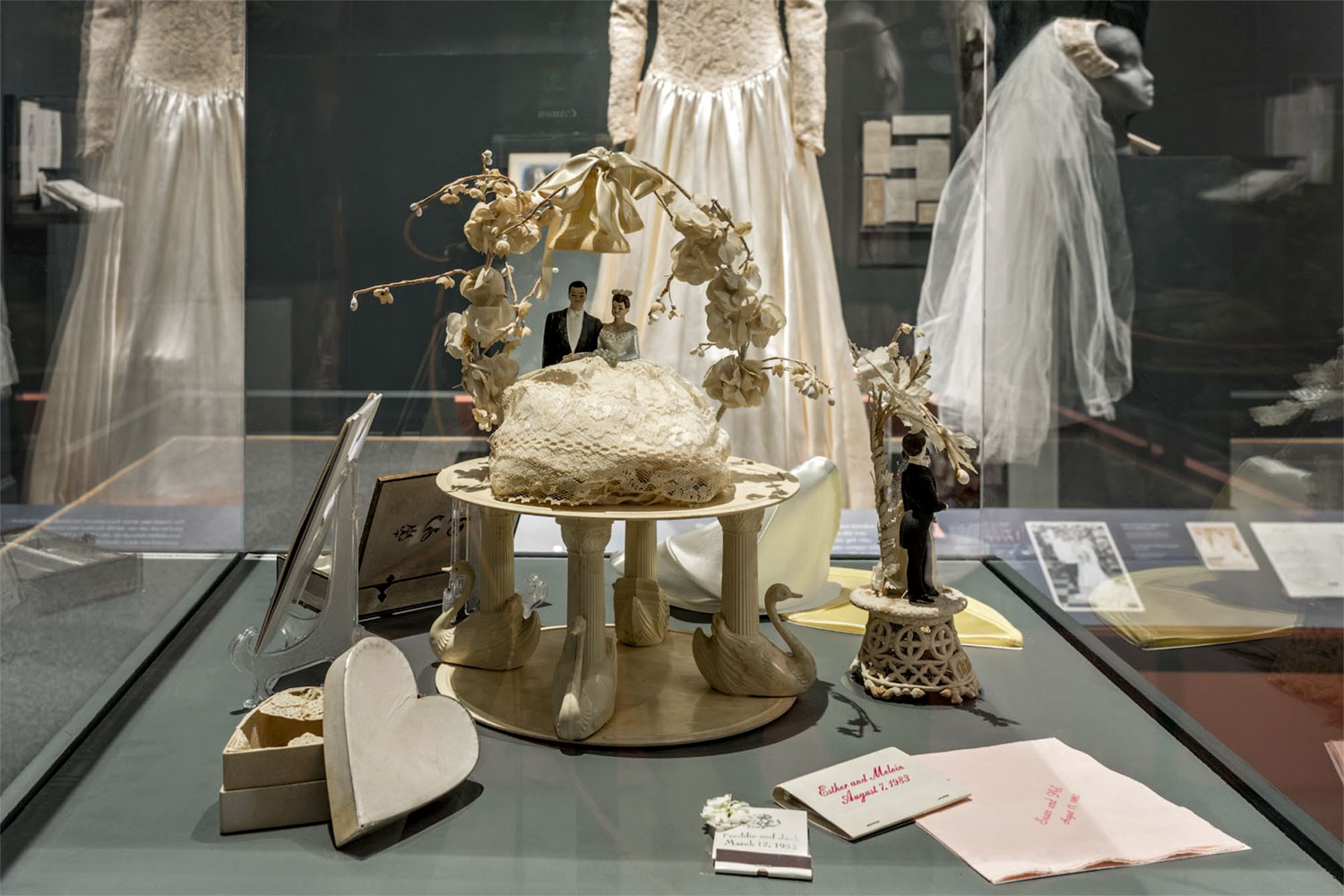 Just Married exhibition objects