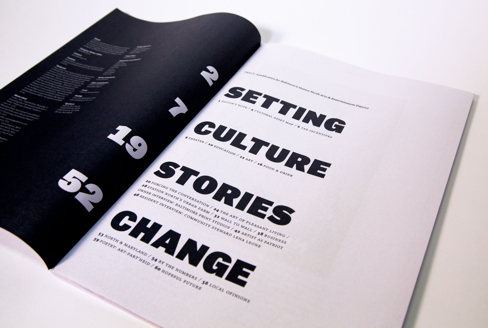 publication table of contents