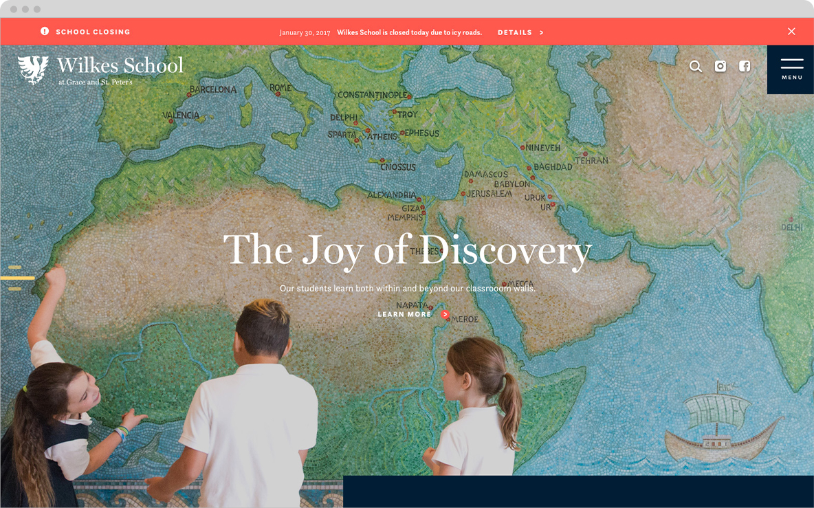 wilkes school homepage