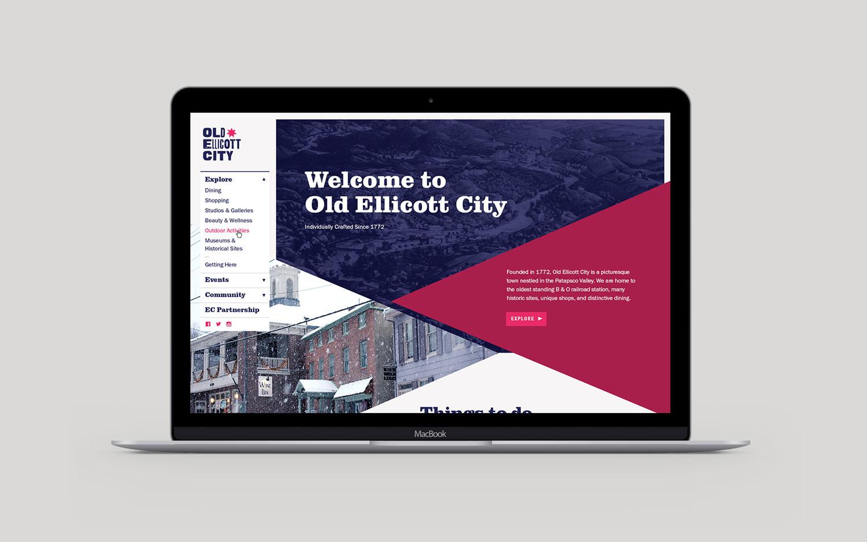 Old Ellicott City website