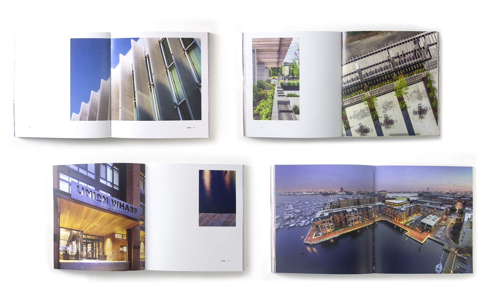 spreads from book