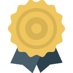 Badge solution laureate