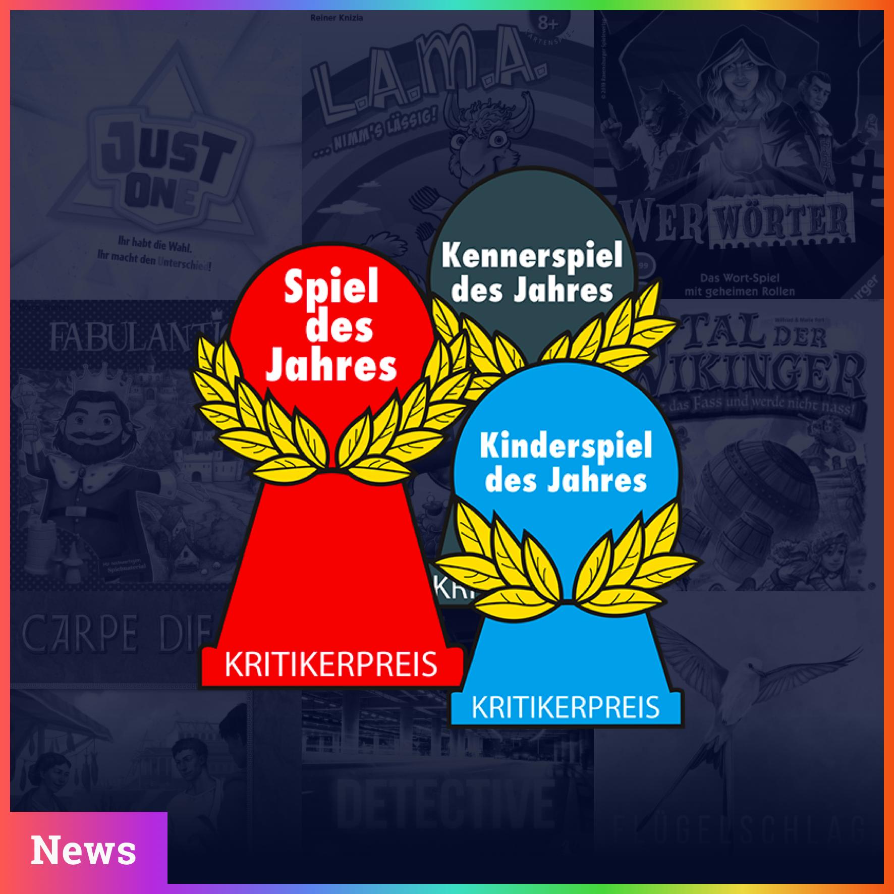 Spiel des Jahres 2019 - Die Nominierten