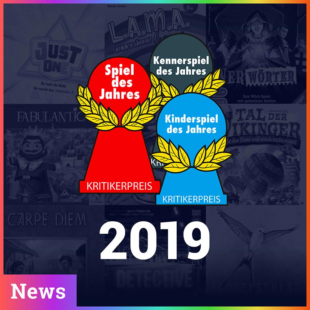 Spiel des Jahres 2019 - Die Gewinner