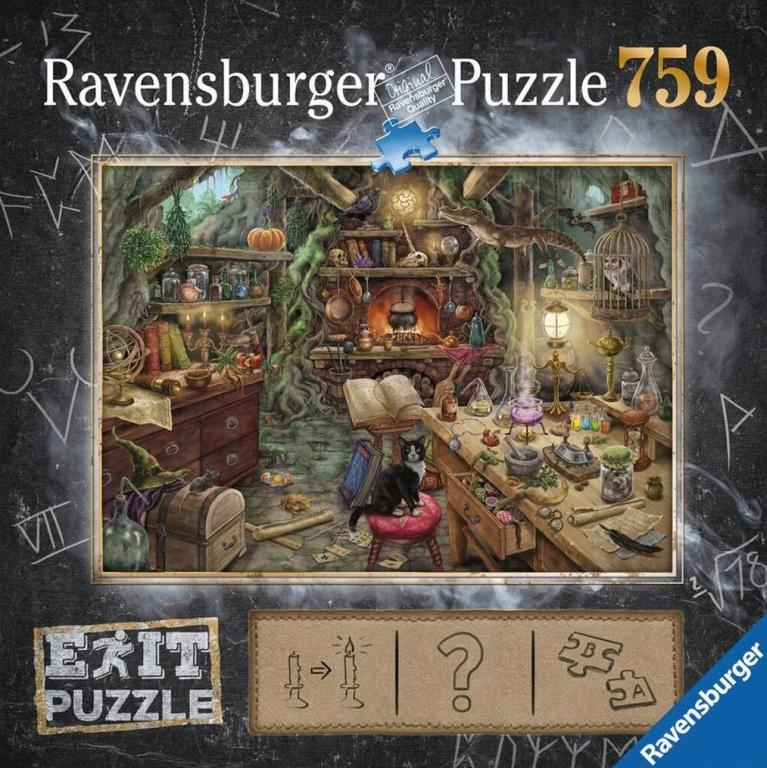 Exit Puzzle - Die Hexenküche