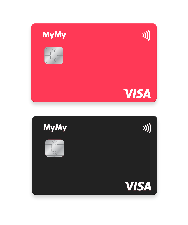 MyMy Card Design