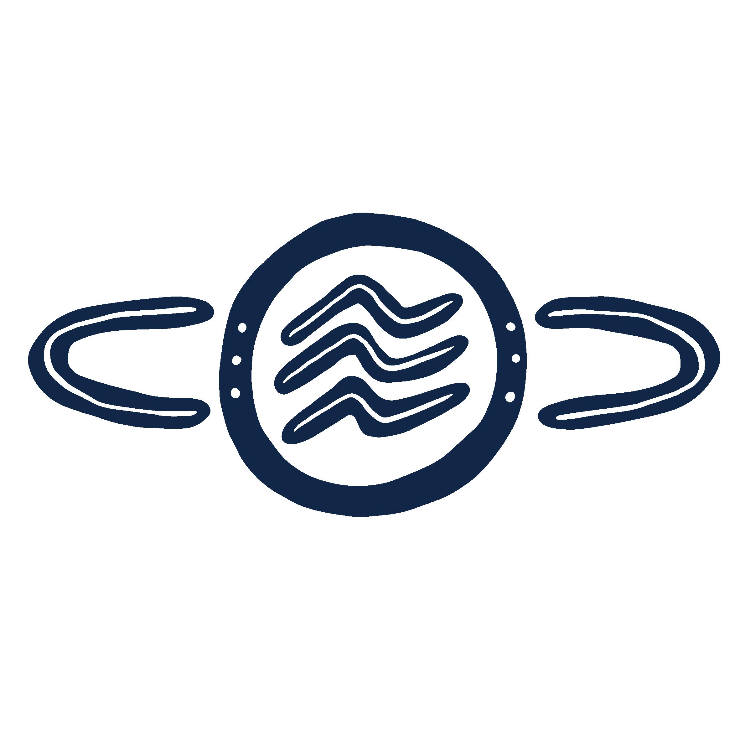 YLab First Nations logo - featuring illustrative wave and circular symbols.