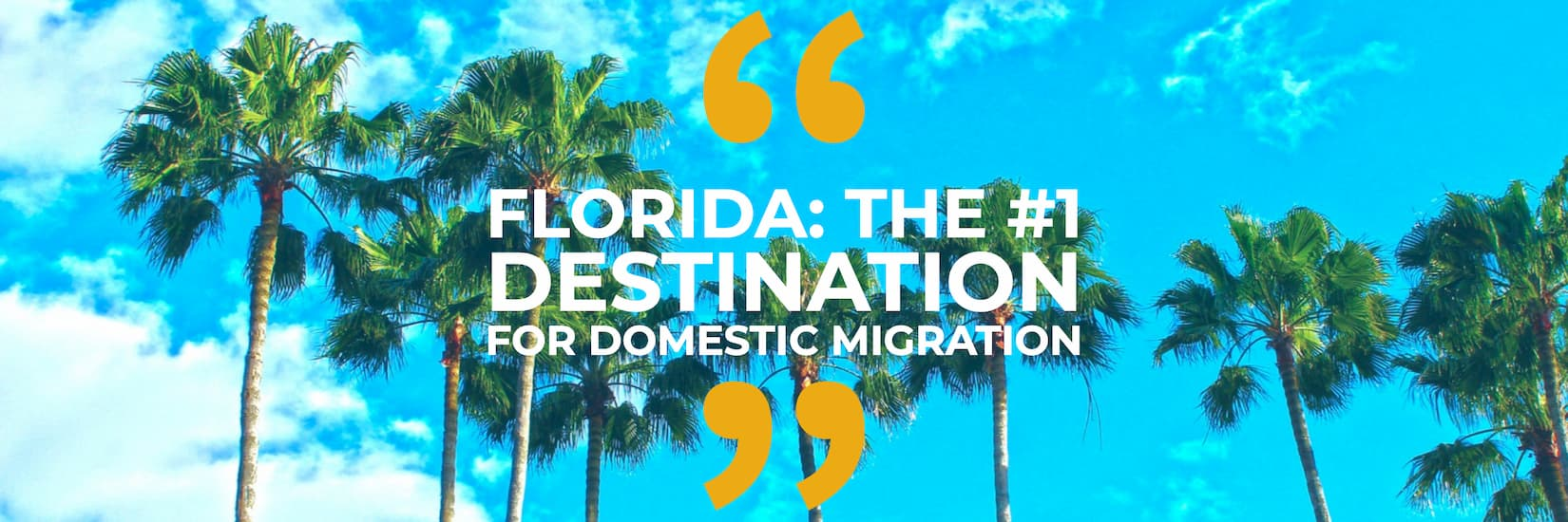 State to state migration to Florida.
