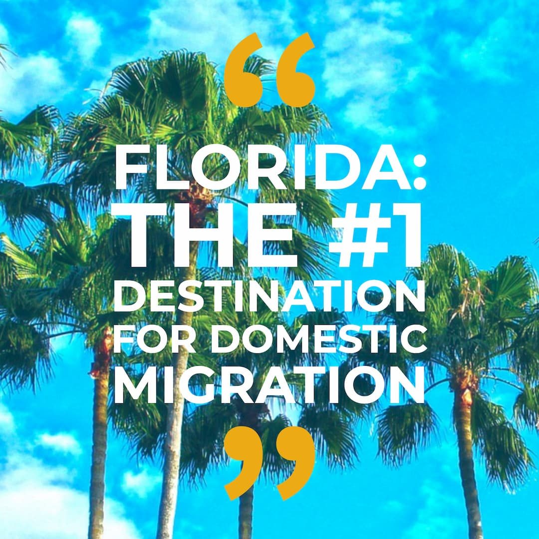 Americans Migrating to Florida