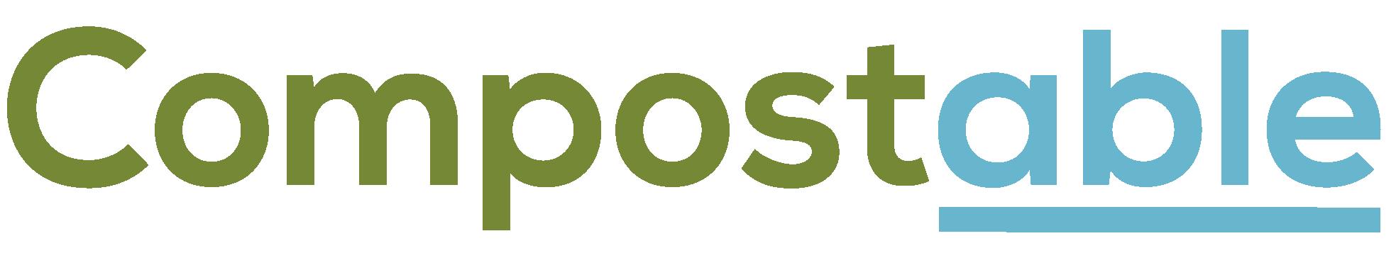 Compostable Wordmark logo