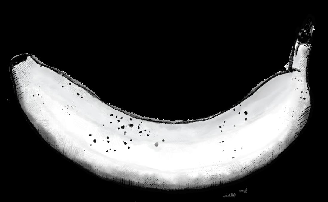 Compostable Illustrated banana