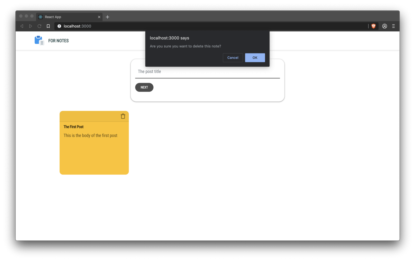 Building a Sticky Notes Application Using 8base, GraphQL and