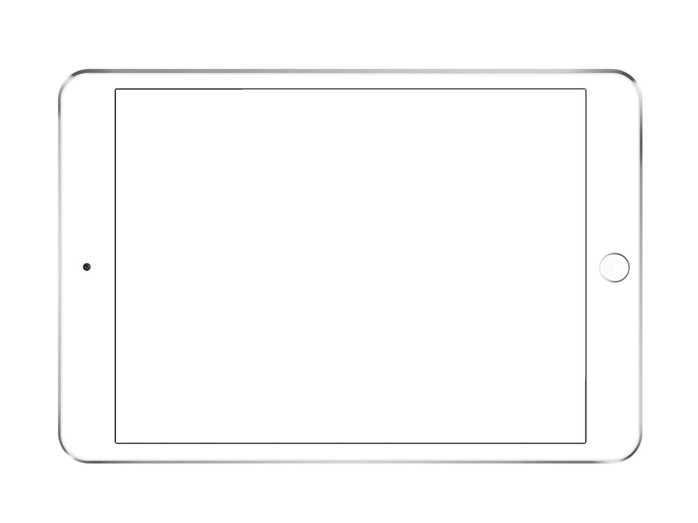 Планшет картинка раскраска
