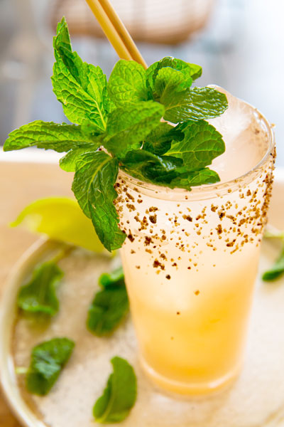 Our bar will create a refreshing drink just for you from our fine range of mezcal and tequila