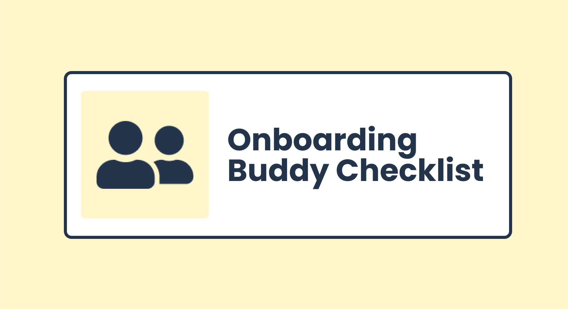 How to build an onboarding buddy program to give your new hires off to a strong start from day one on the job.