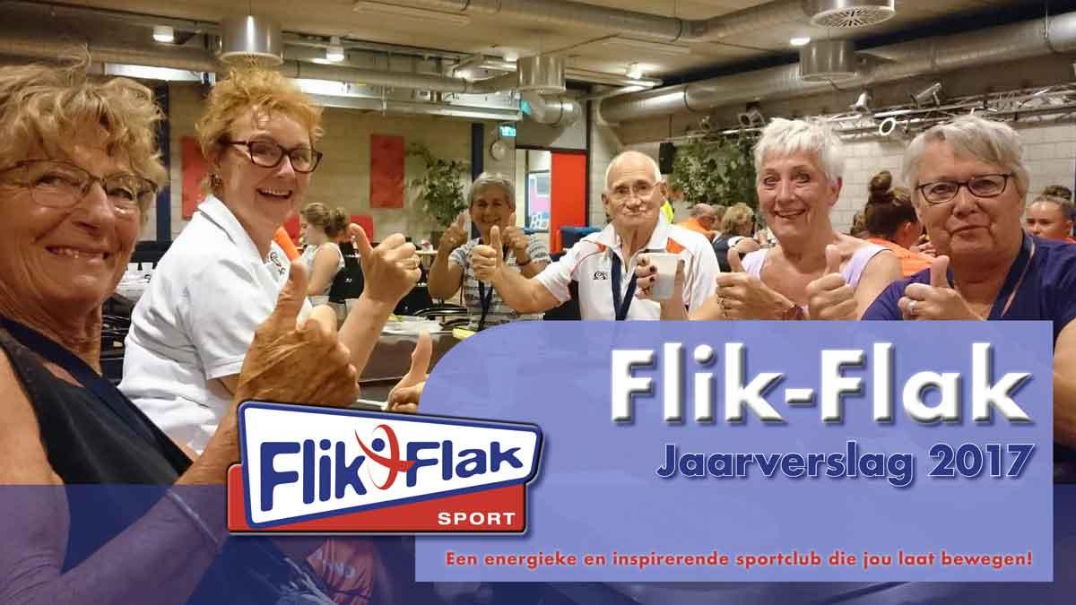 Voorblad Jaarverslag Flik-Flak 2017