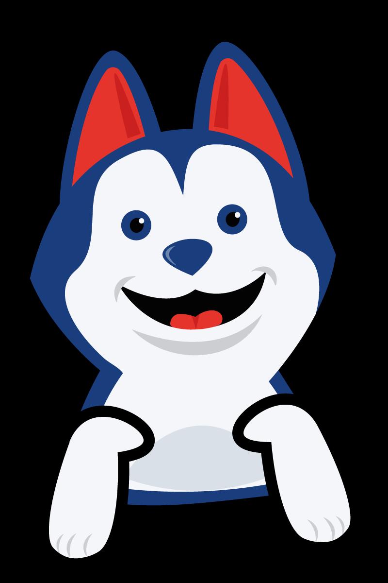 Hondje Flip opzittend - icon voor Flik-Flak Escape Room